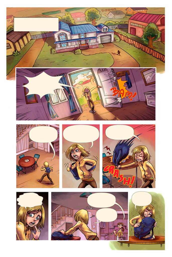 Inside Out. Sample pages for Disney©. 2014